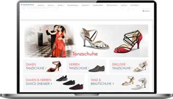 Onlineshop für Tanzschuhe kaufen